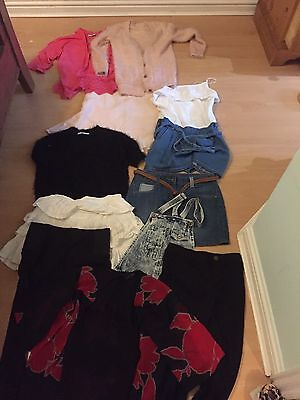 Large Bundle If Quality Girls Clothes Age 8 To 9 Years
