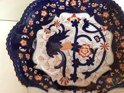 Copeland Spode Imari Pattern Shell Shaped Dish. Cabinet piece.