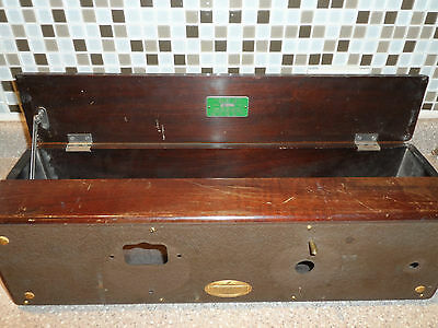 1928 Atwater Kent Model 49 Tube Radio Wood Case Parts Repurpose Made In The USA!