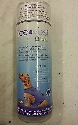 DOG ICE VEST - BRAND NEW - HALF PRICE for small Dog.