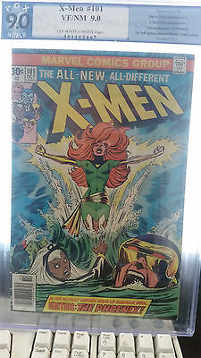 UNCANNY X-MEN #101 PGX 9.0 1st appearance PHOENIX BRONZE KEY, not CGC