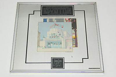 Vintage 1976 Led Zeppelin Mirror The Song Remains The Same Promotional material