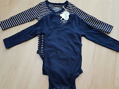 BNWT LUPILU  X 2 baby boys baby grows age 2-6 months (0-3 3-6)