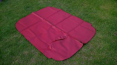 Triumph TR6 Tonneau Cover NEW old stock. RED