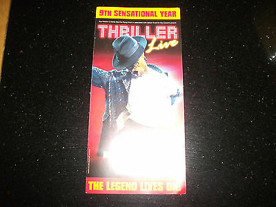 **Thriller Live The Musical Flyer Ay Lyric Theatre London**