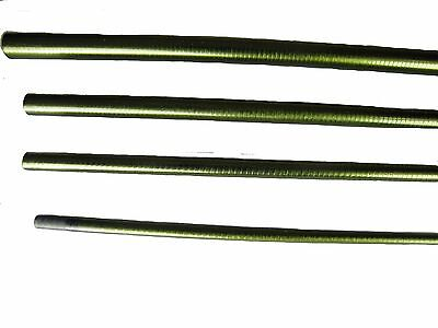 "Olde Fly Shop Series Im-8 Graphite Fly Rod Blank 6' 6"" 1Wt 4Pc Gloss Green"