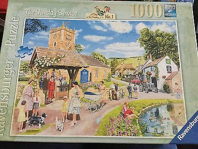 Ravensburger The Sunday Service by Trevor Mitchell 1000 Piece Puzzle