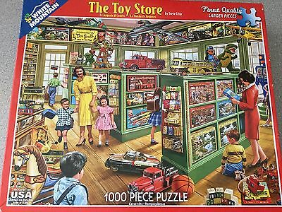White Mountain - The Toy Store - 1000 Piece Puzzle