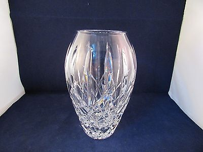 """Waterford Crystal Beautifully Cut 7 1/4"""" Lismore Vase Perfect"""