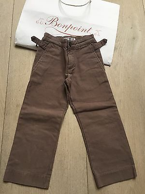 bonpoint Boys Cotton Trousers 3 Years