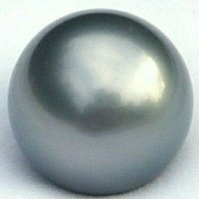 Certified Loose Round 10.42mm Black South Sea Cultured Pearl AA+/AAA
