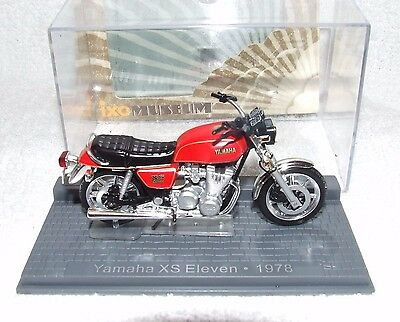 Yamaha Xs Eleven .1978  Ixo Museum  Models 1/24 Scale In Good Condition