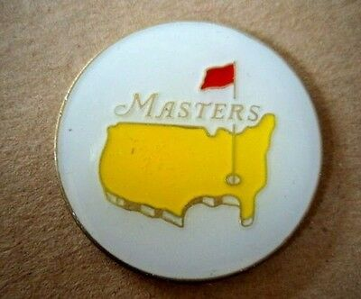 "Us Masters Undated 1"" Coin  Golf Ball Marker"