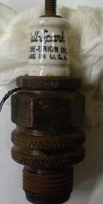 """Full Spark"" Antique Spark Plug"
