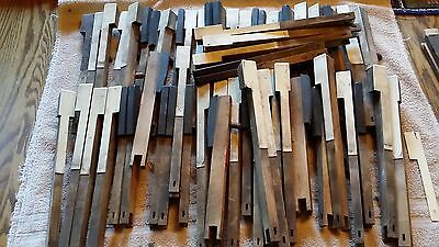 Vintage Pump Organ parts.  Keys, Pull Knobs. Bellows Rollers and other miscellan