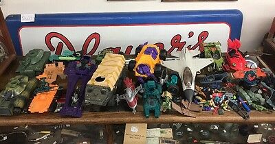 gi joe vehicle lot, Lots Of Parts And Figures.