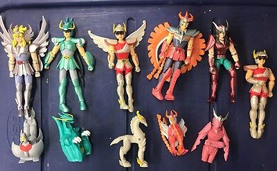 Dragon Shiryu Knights Of The Zodiac Lot Of 6 Figures Bandia 2003