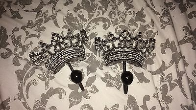 Crown Hooks Shabby Chic
