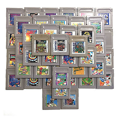 Mixed Lot of 54 Game Boy Gameboy Games • Instant Collection • $2.75 Each