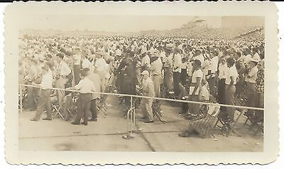1948 National Air Races Picture View Of Grandstand.