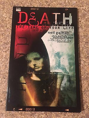 Death: The Time Of Your Life Part 1. Sandman Miniseries 1996.