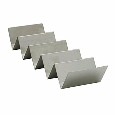 Winco TCHS-45 4-5 Compartments Stainless Steel Taco Holder New