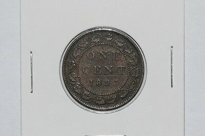 1893 Victoria One Cent Canada - Large