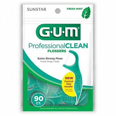 Gum Eez-Thru Mint Dental Flossers (90/bag)