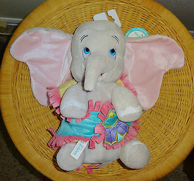 NWT DUMBO BABIES w BLANKET Disney Parks Exclusive Stuffed Plush Lovey Toy NEW