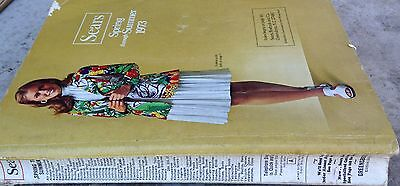 SEARS VINTAGE CATALOG Spring and Summer 1973