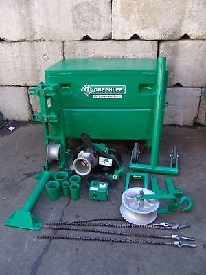 Greenlee 6500 Lbs Super Tugger Cable Wire Puller Works Great
