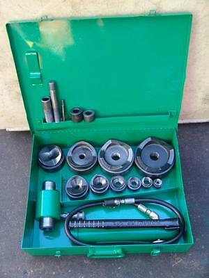 Greenlee 7310 1/2 To 4 Hydraulic Knock Out Punch #10