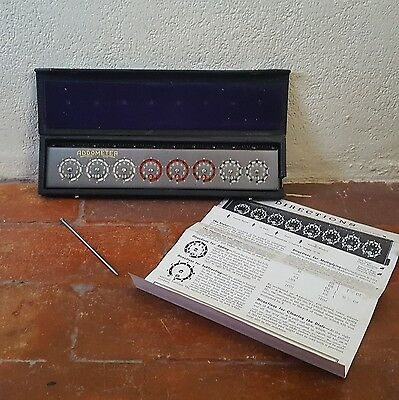 VTG 40s/50s ~ ADDOMETER ~ Early Calculator ~ In Box with Stylus and Instructions