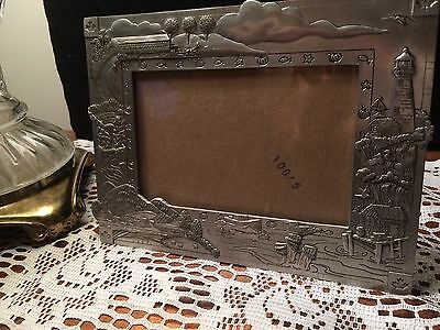 Seagull Pewter Picture Frame 2000 Etain Zinn