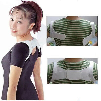 Magnetic Therapy Posture Corrector Body Back Pain Belt Brace Shoulder Support