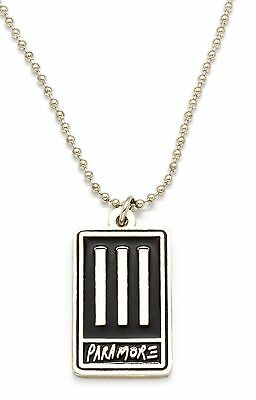 Paramore Metal Pendant with Chain Ball Necklace