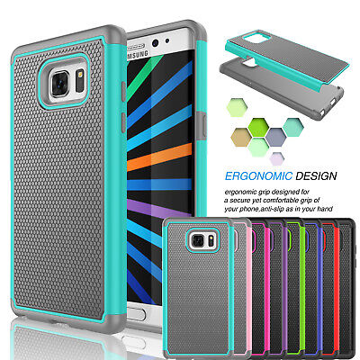 Shockproof Armor Hybrid Rubber Impact Hard Case Cover For Samsung Galaxy Note 5