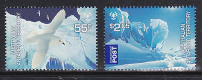2009 Australian Antarctic Territory Stamps - Poles and Glaciers - MNH set of 2