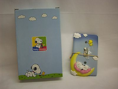 """Snoopy Peanuts baby light switch plate cover, """"Moon"""", Westland #8617, NEW in box"""