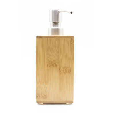 Bamboo Refillable Bottle For Foaming Soap Pump Shampoo Dispenser Foam Bottle