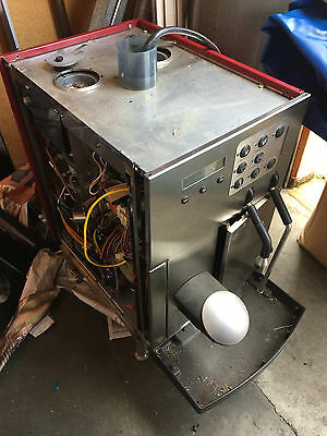 Franke Ecolino Swiss Made Espresso Machine FOR PARTS OR REPAIR RED