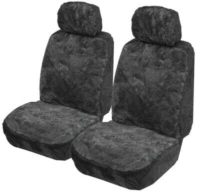Explorer Diamond Pattern Sheepskin Size 30 (Lambswool) Seat Covers Pair