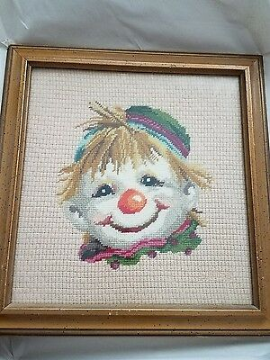Crochet Clown Picture