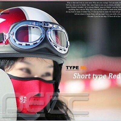 Bicycle Bike Motorcycle Ski Winter Warm Neck Half Face Mask Red New