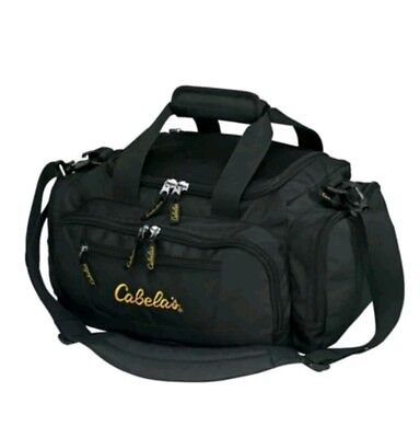 Cabelas Catch-All ~ Black ~ Tactical, ammo, or gear duffle bag. 6 pockets. NWT