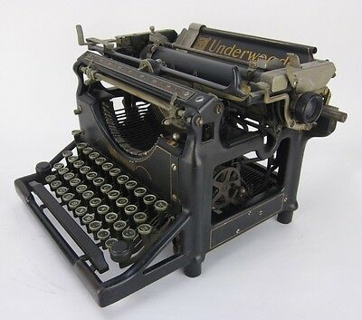 Vintage 1930 Underwood No. 5 12 in. Typewriter 3805250-5