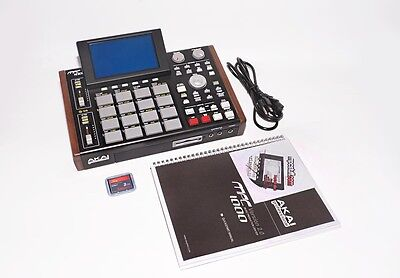 Akai MPC 1000, 128MB RAM, 80GB Internal HD, XLCD Screen, Pad Upgrade, Wood Sides