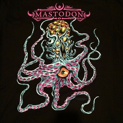 Mastodon T-shirt 2017 Tour Tentacle Monster Medium