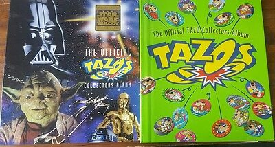 Assorted Tazos - Star Wars (with extremely RARE HOLOGRAPHIC) - Original Tazos