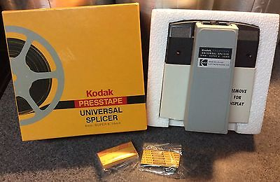 Vintage Kodak Presstape Universal 8mm, SUPER 8 & 16mm Film Splicer Model D550
